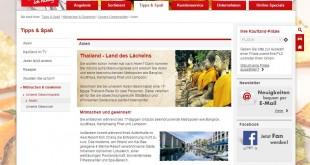 Kaufland Thailand Reise Gewinnspiel