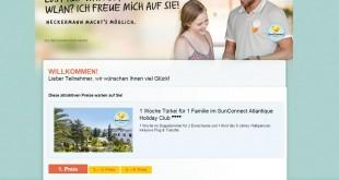 Neckermann Reise Gewinnspiel