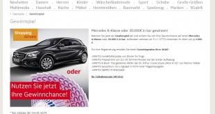 Otto Auto Geld Gewinnspiel