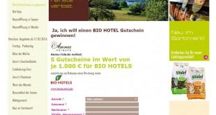 denn's Bio Hotel Gewinnspiel