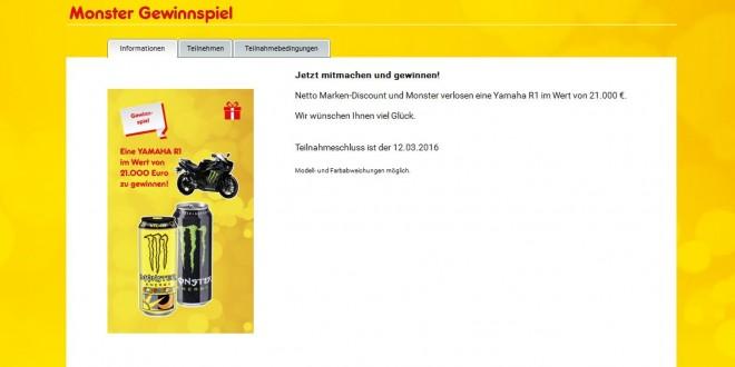 Monster Energy Gewinnspiel