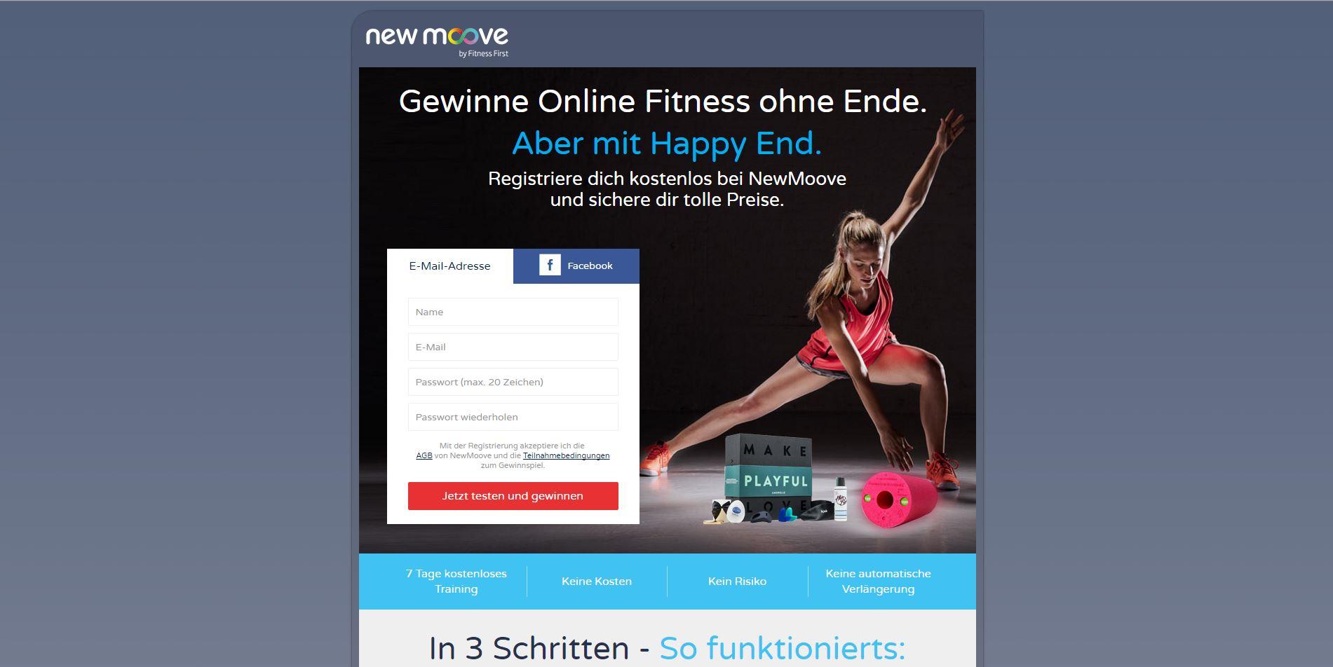 online workout kostenlos