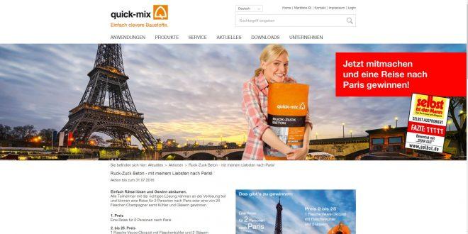 Paris Reise Gewinnen