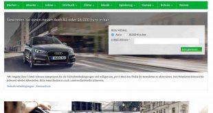 Thalia Audi A1 Gewinnspiel