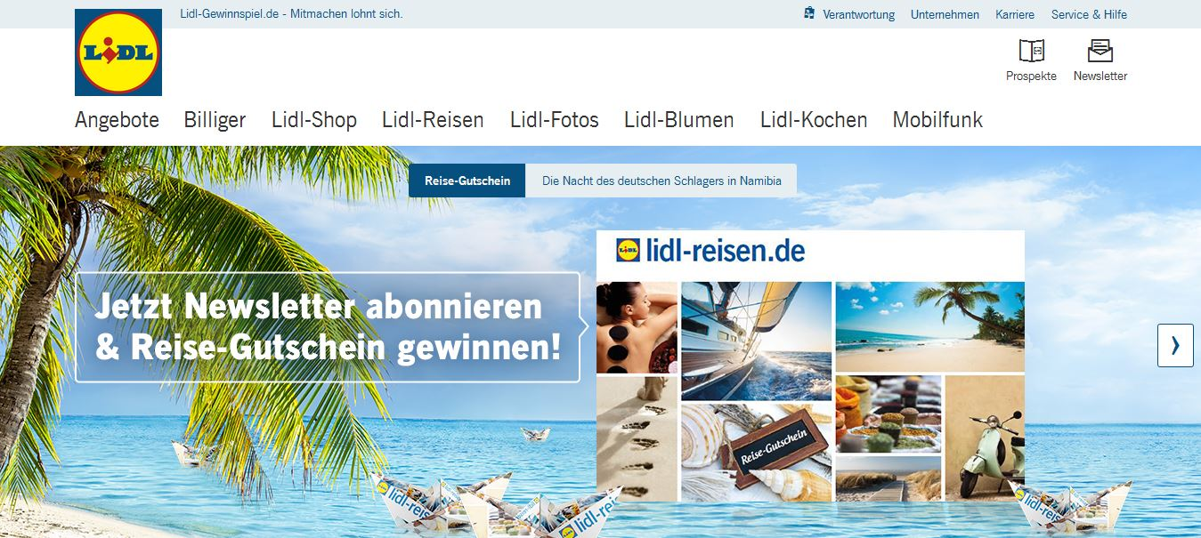 euro gutschein f r lidl reisen gewinnen lidl gewinnspiel. Black Bedroom Furniture Sets. Home Design Ideas