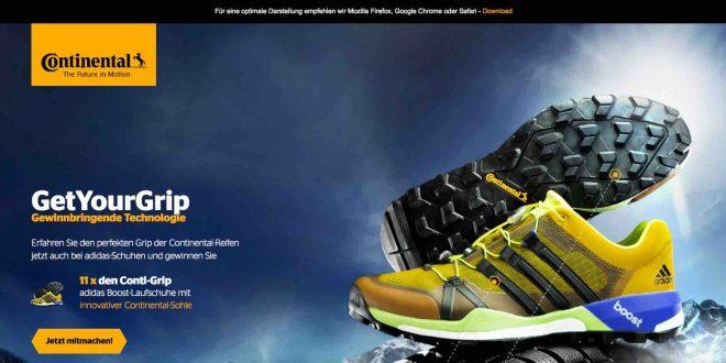 Adidas Boost Continental Sohle