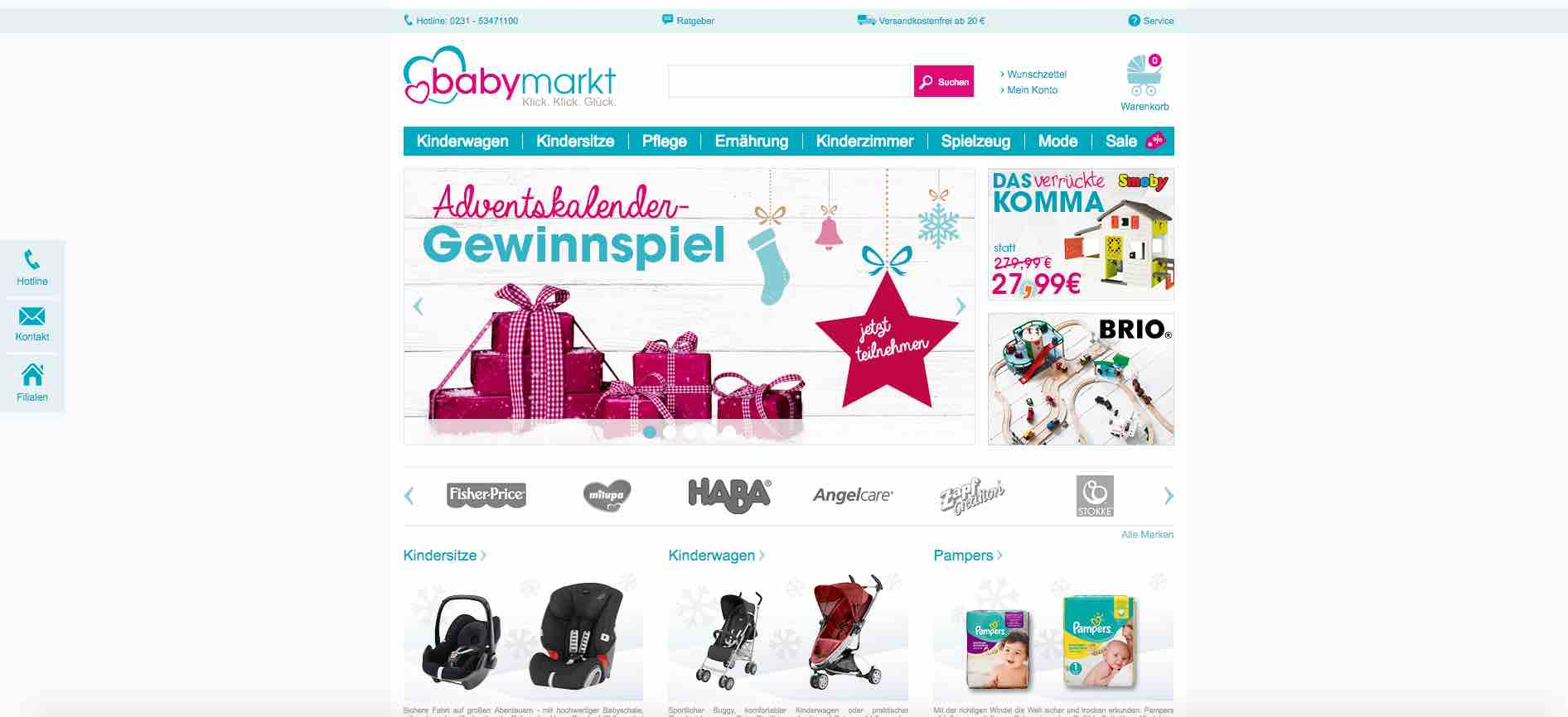babymarkt adventskalender gewinnspiel 2016. Black Bedroom Furniture Sets. Home Design Ideas