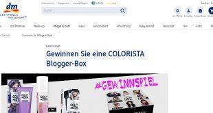 colorista blogger box gewinnen