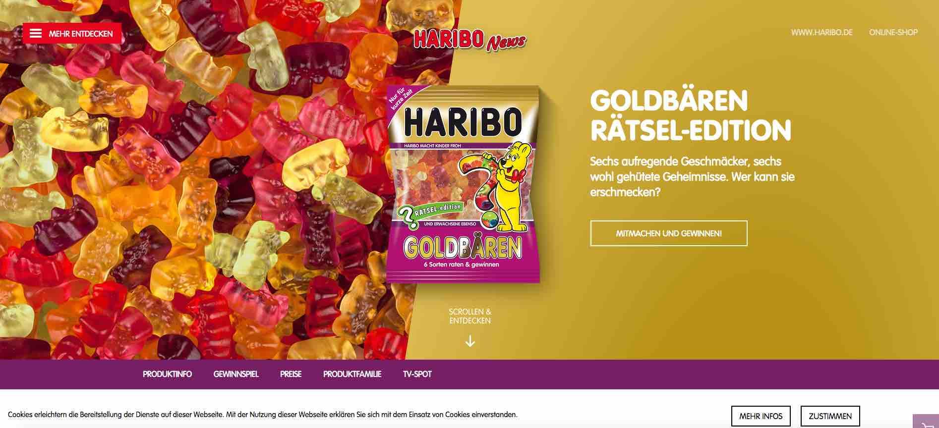 Haribo Gewinnspiele