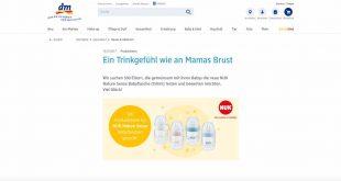 babyflaschen produkttester gesucht