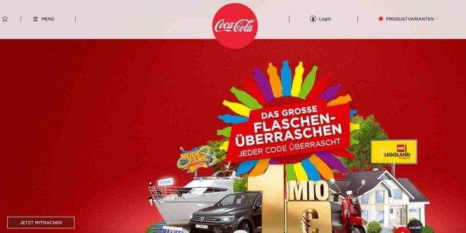 coca cola gewinnspiel 2019 deckel code