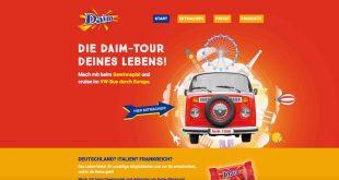 vw bus gewinnen europa trip