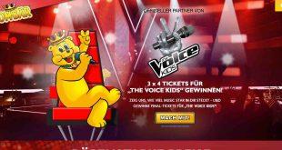 finaltickets voice kids gewinnen