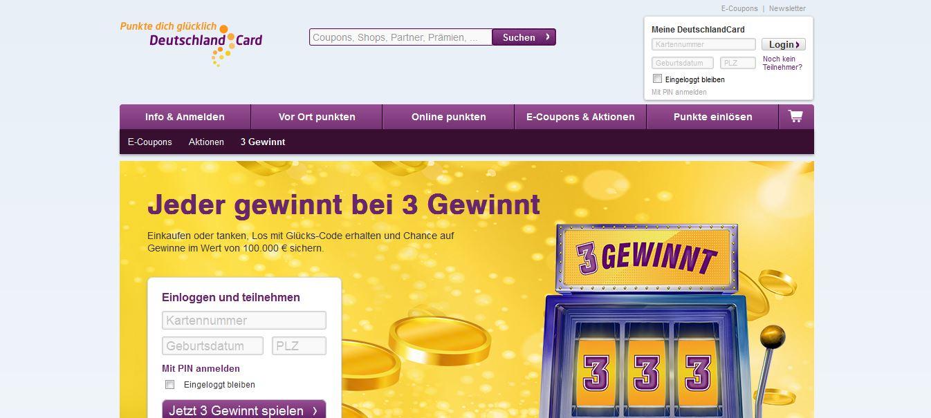 deutschland card 3 gewinnt