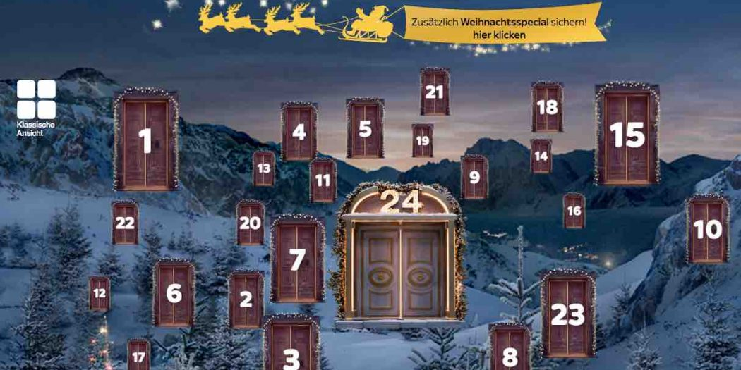 weihnachts und adventskalender gewinnspiele 2015. Black Bedroom Furniture Sets. Home Design Ideas