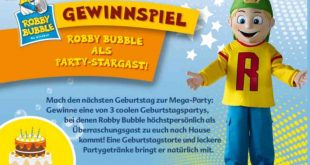 robbybubble gewinnspiel