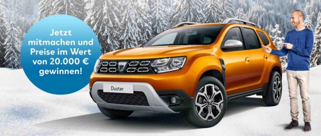 Dacia Gewinnspiel