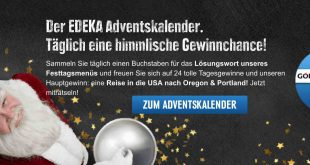 Edeka Online Adventskalender