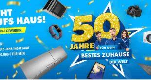 Euronics Jubiläum Gewinnspiel