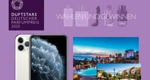 Geiwnnspiel zum deutscher parfumpreis 2020