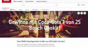 REWE Bosch CookIt Gewinnspiel